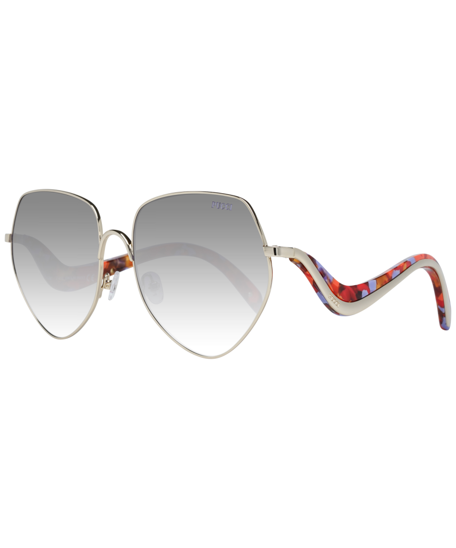 Image for Emilio Pucci Sunglasses EP0119 28G 59 Women Gold