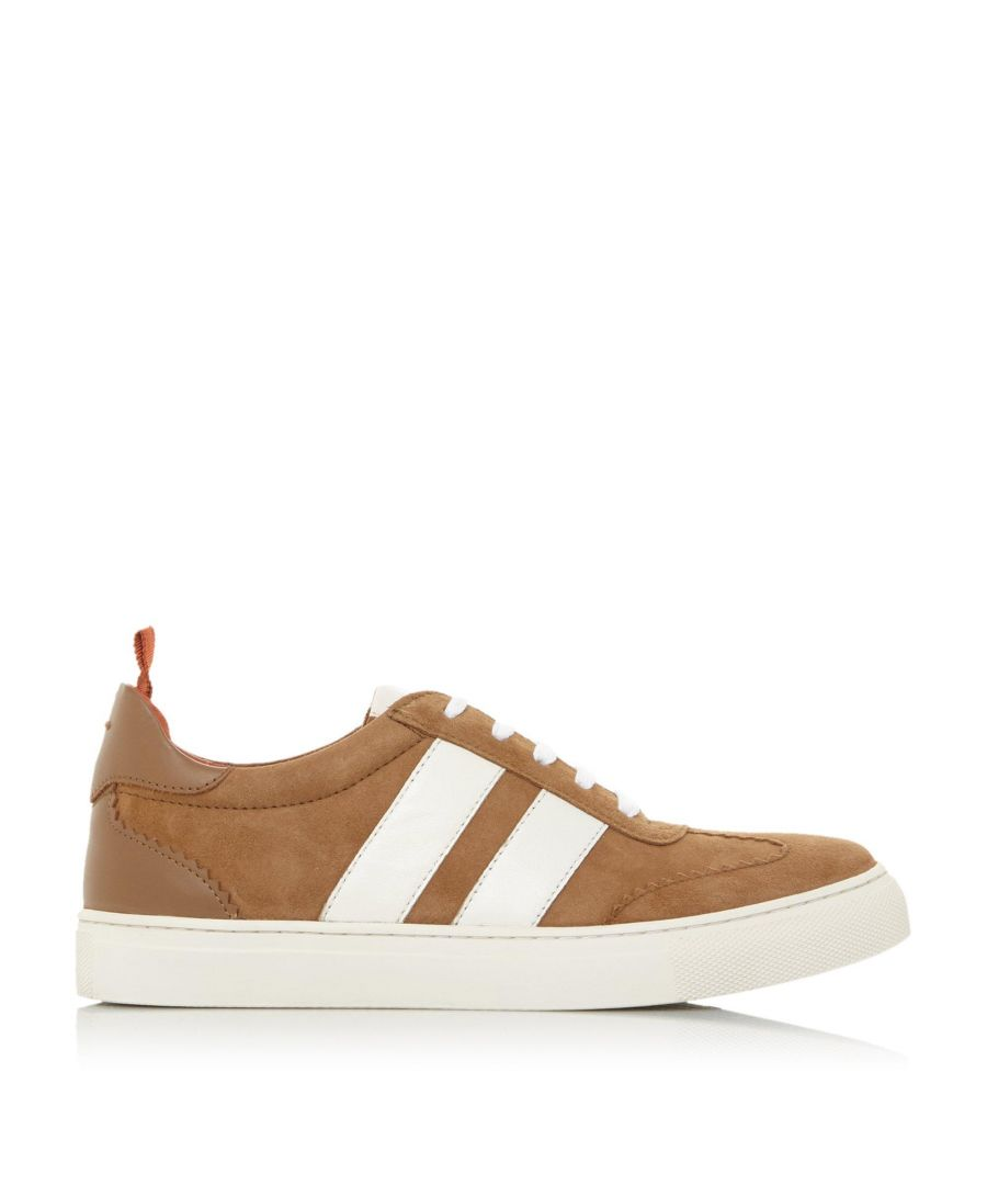 Image for Bertie Ladies ERNESTT Striped Detail Cupsole Trainers