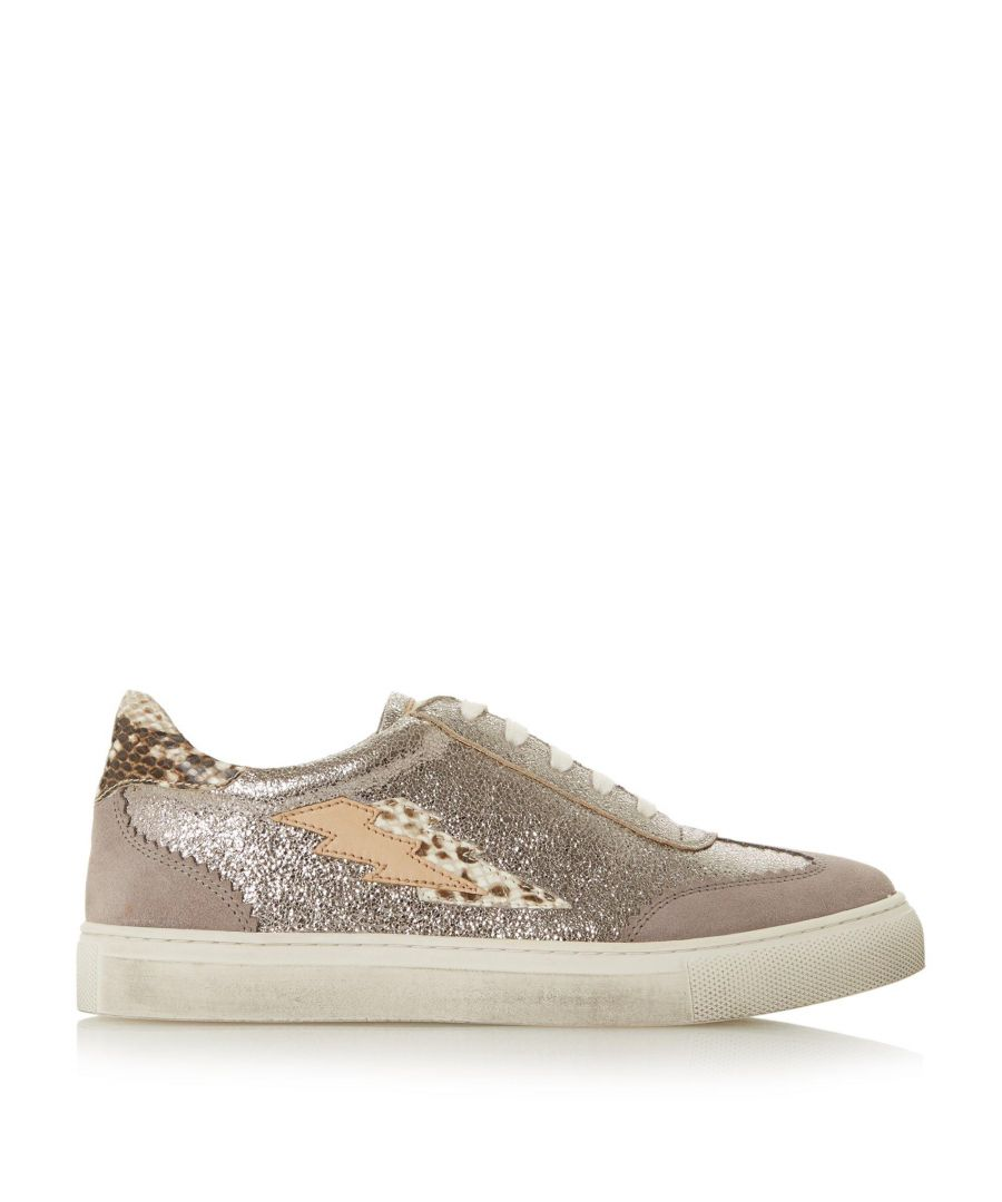 Image for Bertie Ladies ERNIE Mix Material Lace Up Trainers