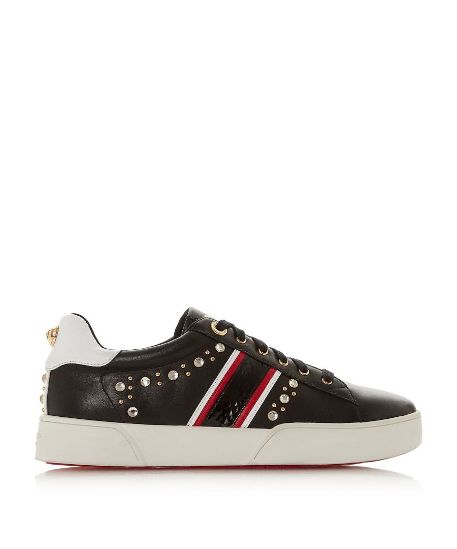 Image for Dune Ladies ERYN Embellished Lace Up Trainers