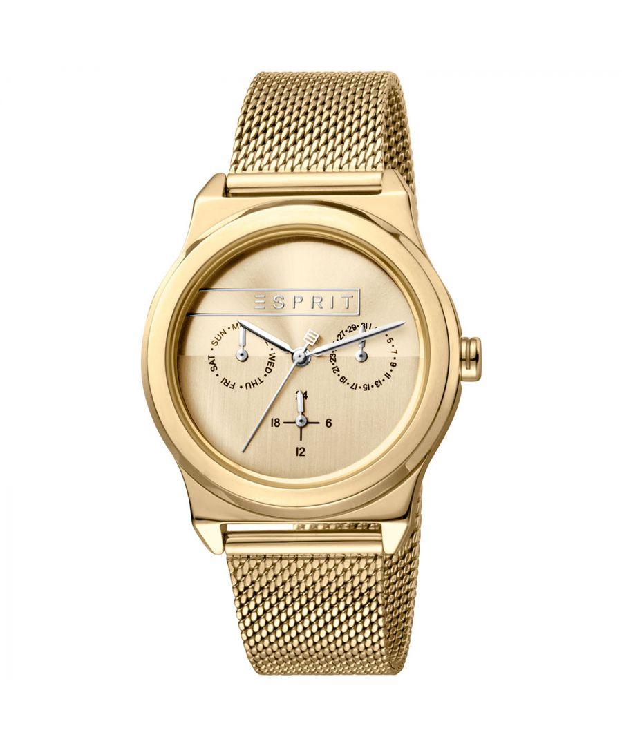 Image for Esprit Watch ES1L077M0055 Women Gold