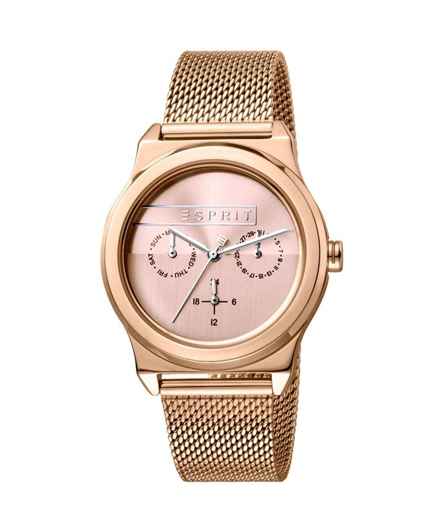 Image for Esprit Watch ES1L077M0065 Women Rose Gold