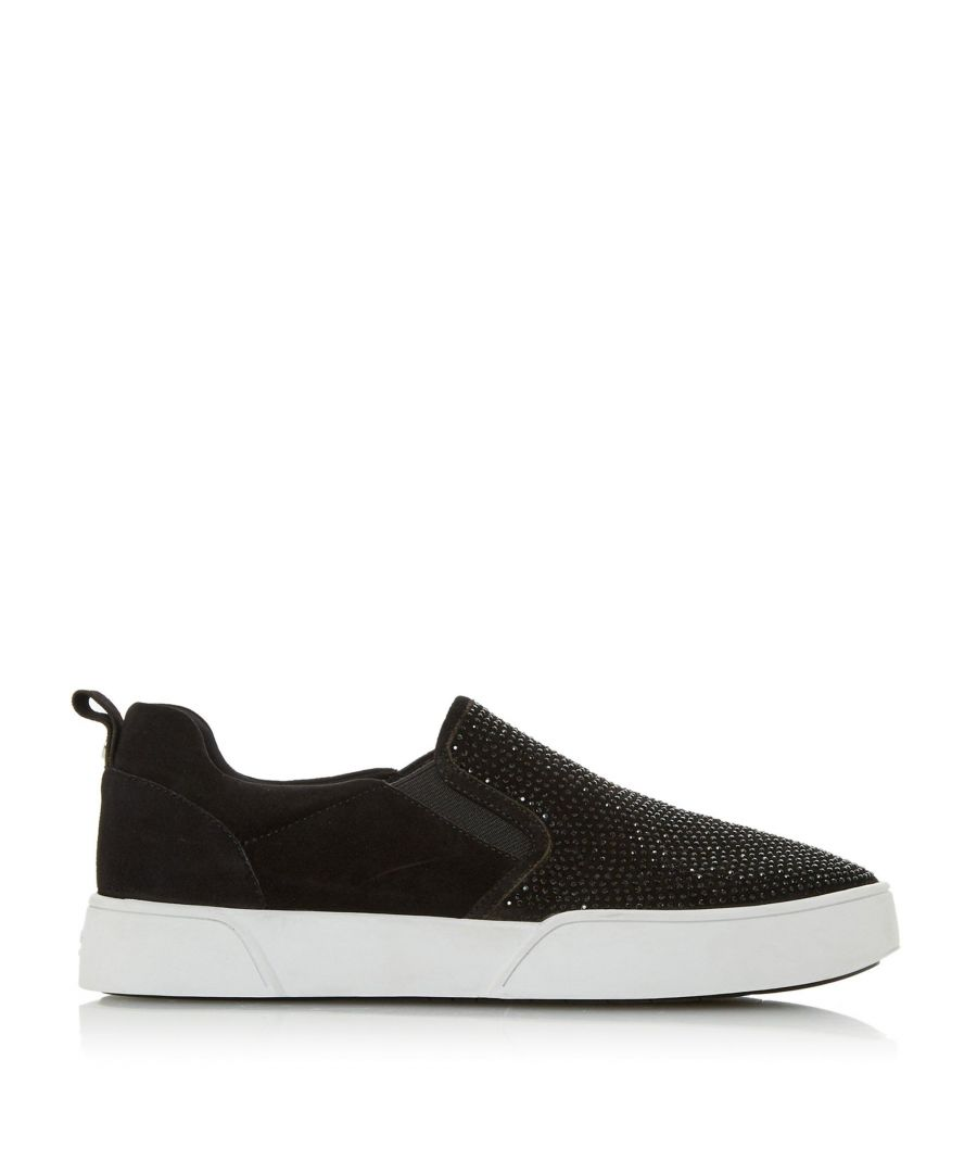 Image for Dune Ladies ESHAN S Slip On Studded Panel Trainers