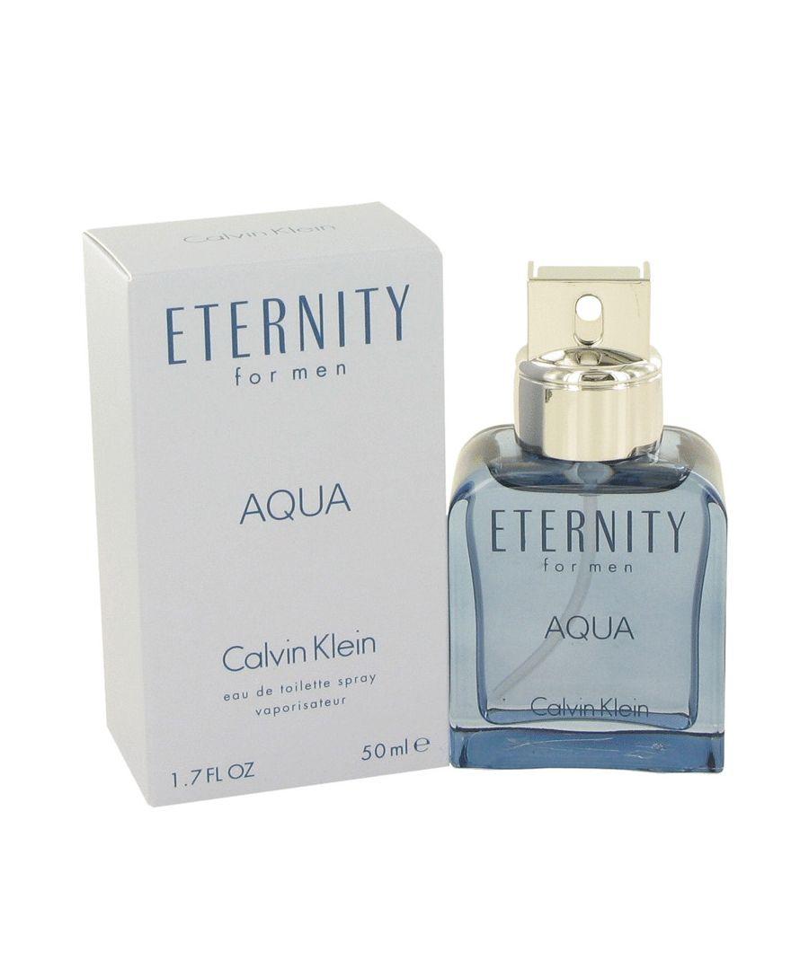 Image for Eternity Aqua Eau De Toilette Spray By Calvin Klein 50 ml