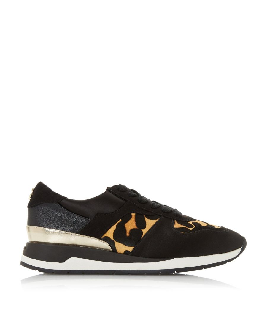Image for Dune Ladies ETRICK XX Contrasting Insert Trainers