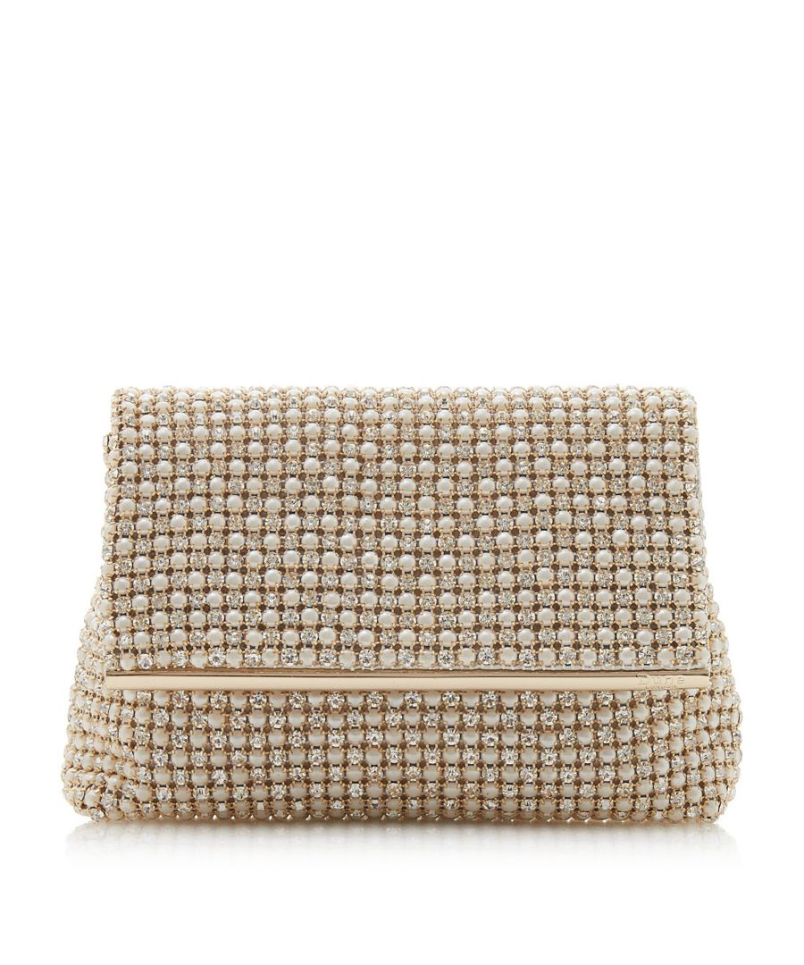 Image for Dune EVERLINA Diamante Embellished Clutch Bag