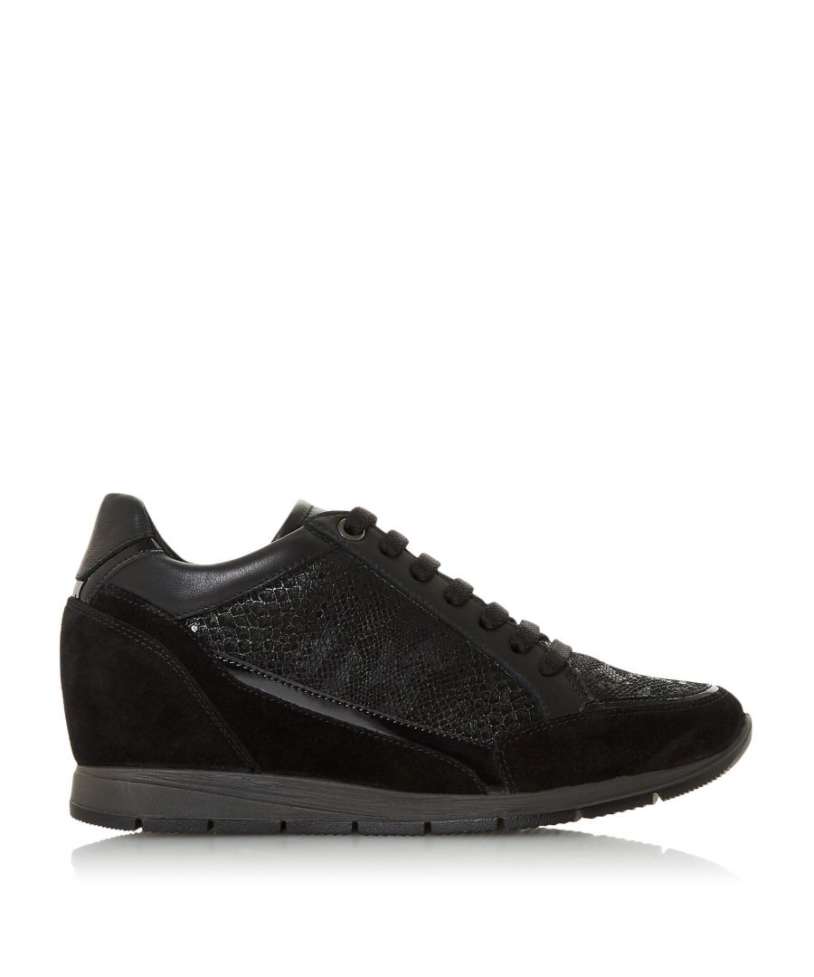 Image for Dune Ladies EXPLODE Mid Wedge Heel Lace Up Trainers