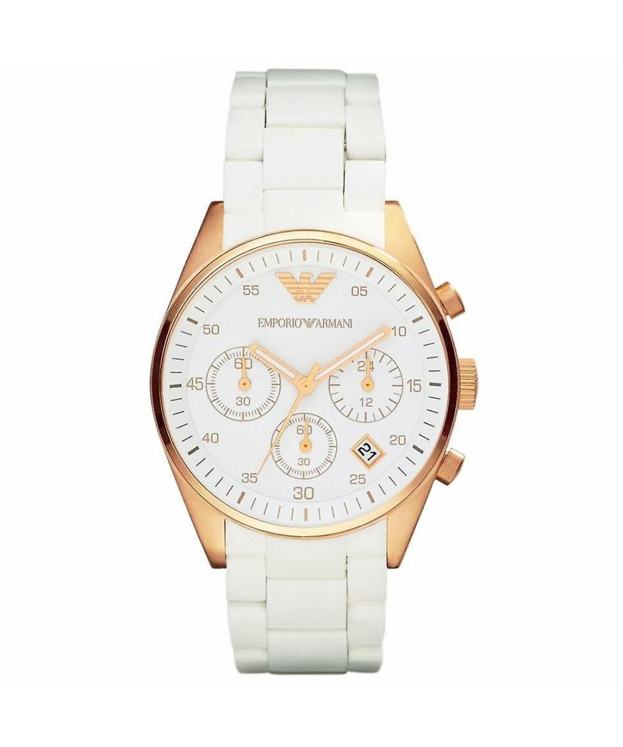 Image for Emporio Armani Womens' Chronograph Watch AR5920