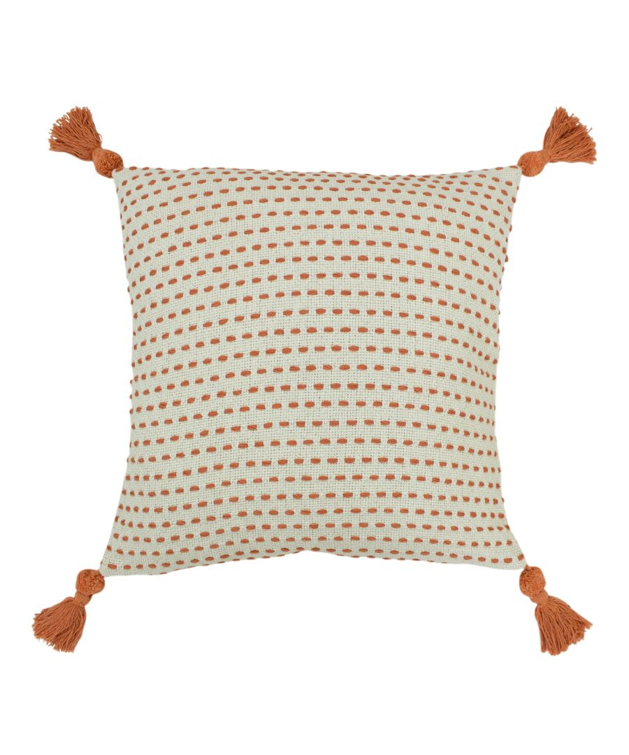 Image for Ezra 50X50 Poly Cushion Coral