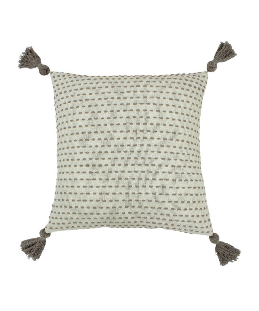 Image for Ezra 50X50 Poly Cushion Grey