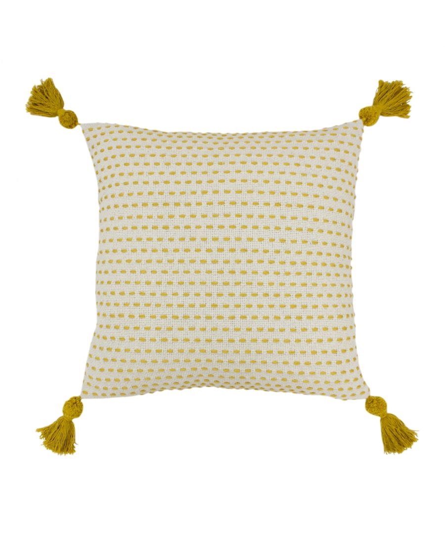 Image for Ezra 50X50 Poly Cushion Ochre
