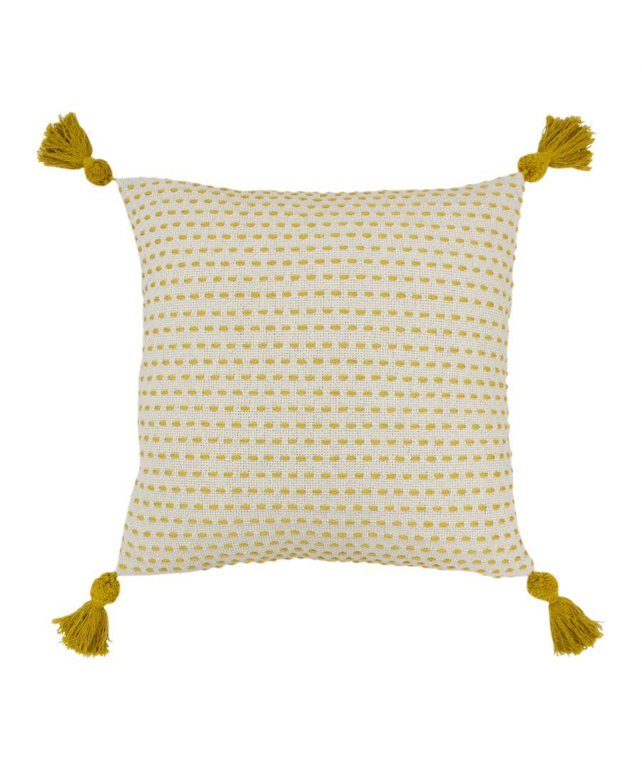 Image for Ezra 50X50 Poly Cushion Ochre
