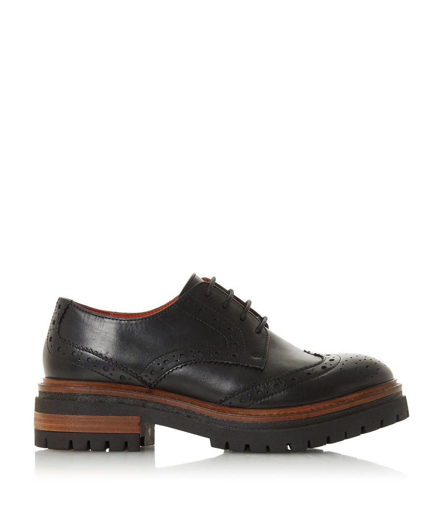 Image for Bertie Ladies FANTASY Contrast Sole Lace Up Brogue