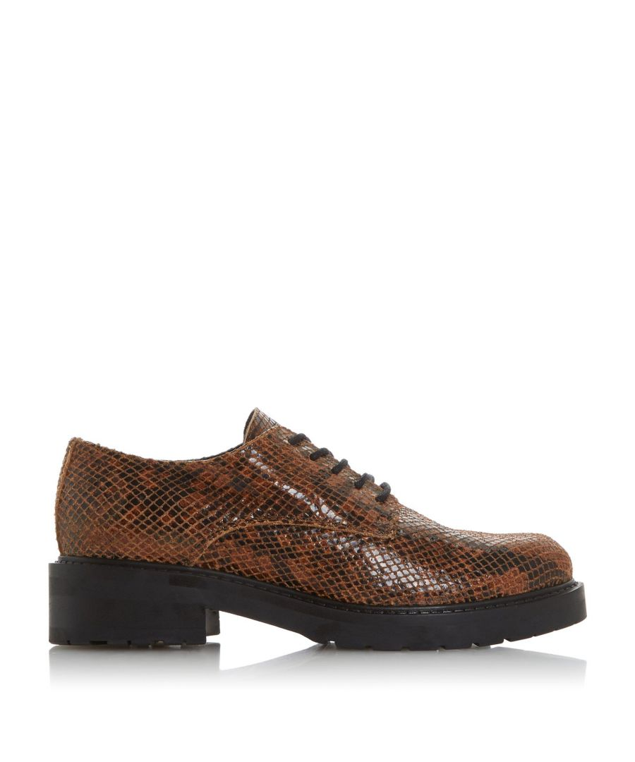 Image for Dune Ladies FEARCE Lace Up Cleated Sole Shoes
