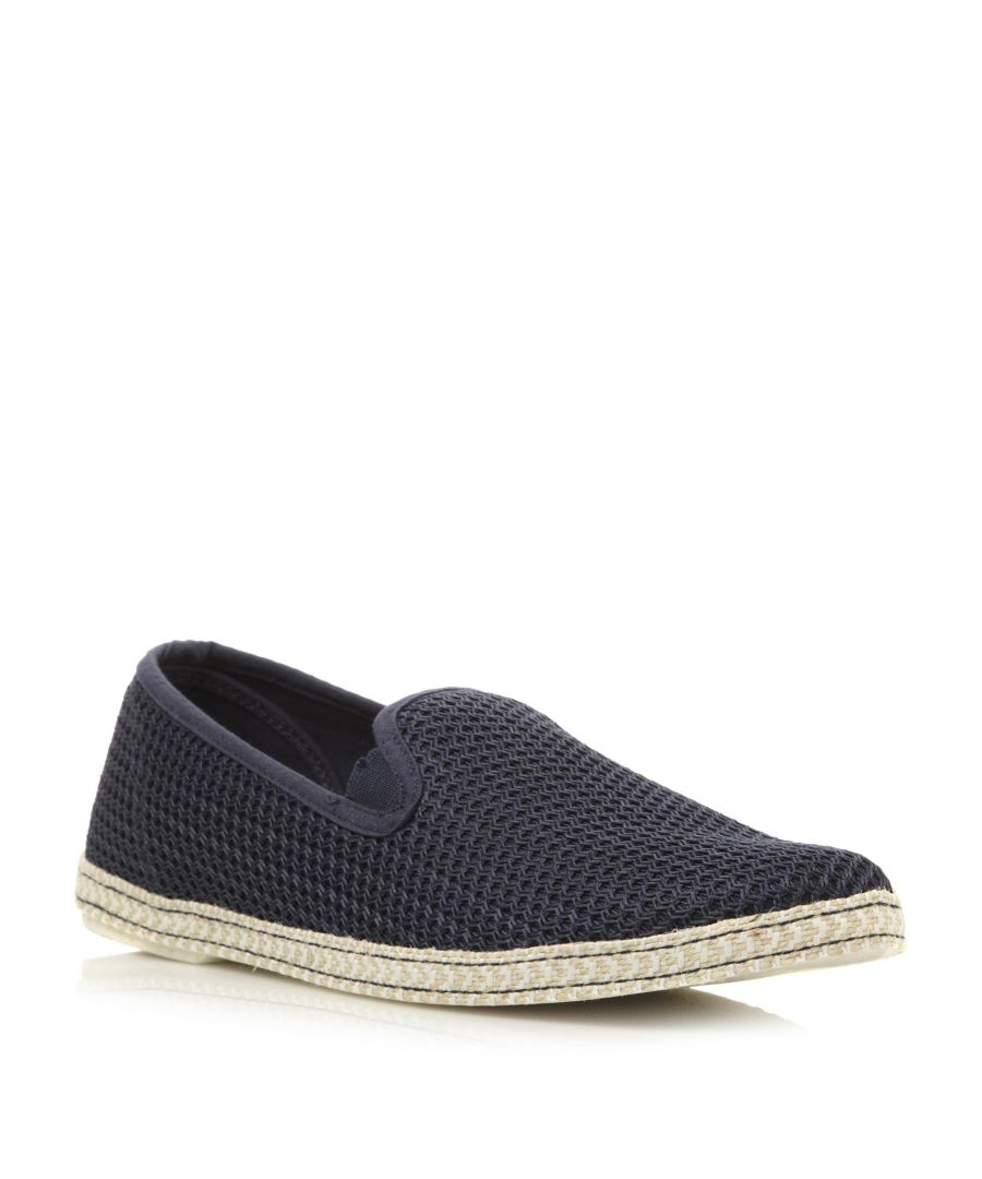 Image for Dune Mens FENCE Mesh Slip On Espadrille Shoe