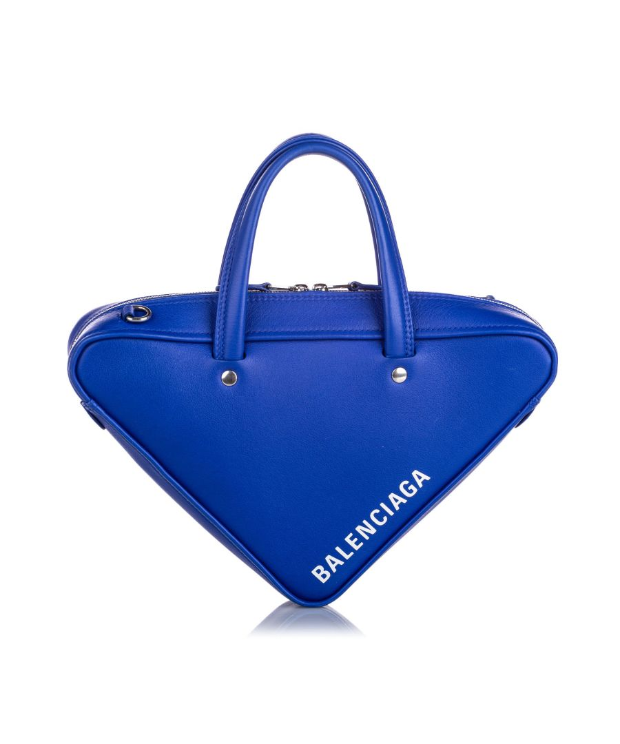 Image for Balenciaga Triangle Duffle XS Bag Blue