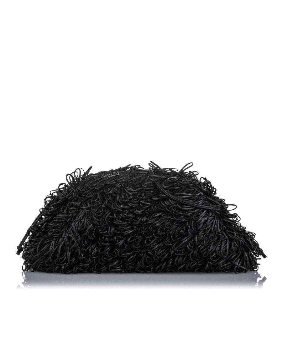 Image for Bottega Veneta Small Curly The Pouch Black