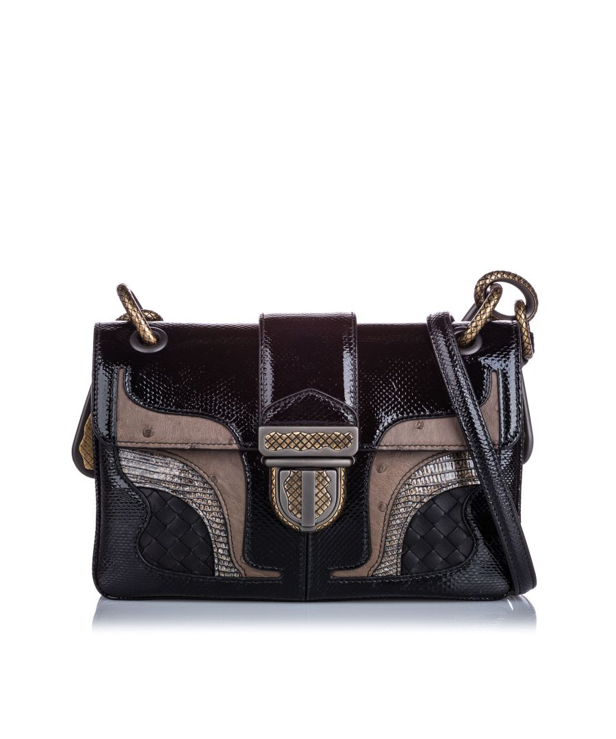Image for Vintage Bottega Veneta 50th Anniversary Darling Shoulder Bag Brown