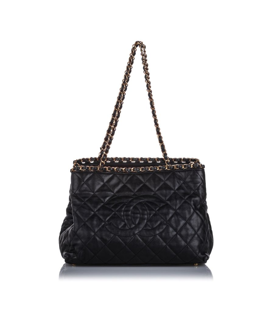 Image for Chanel Chain Me Tote Black