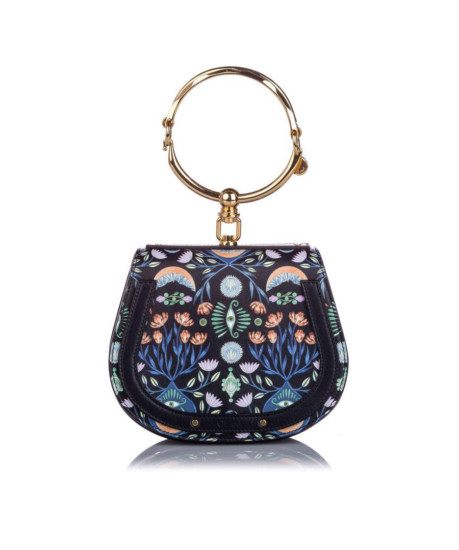 Image for Chloe Small Printed Nile Crossbody Bag Black