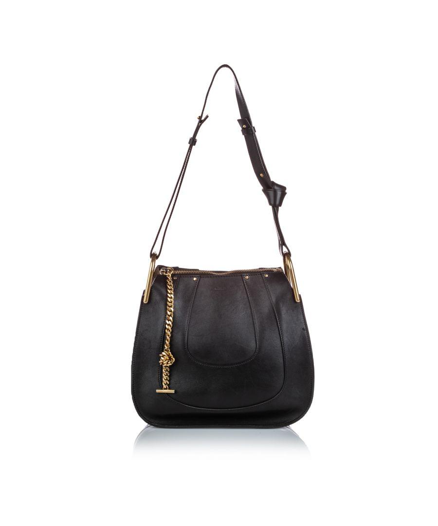 Image for Vintage Chloe Leather Hayley Black