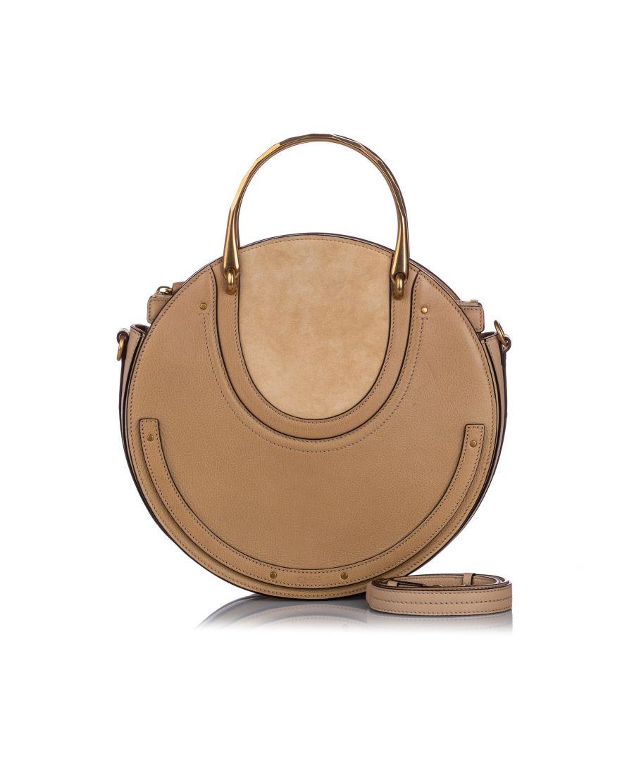 Image for Vintage Chloe Medium Pixie Leather Satchel Brown