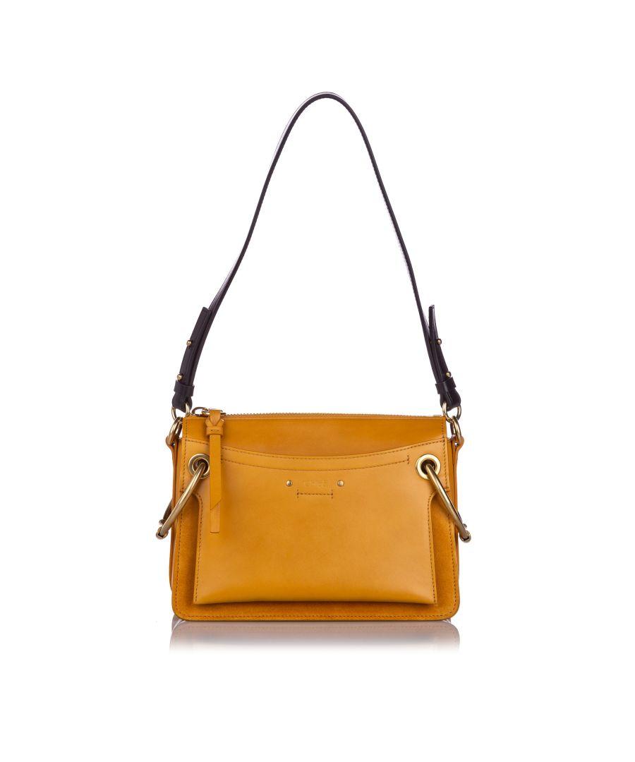 Image for Vintage Chloe Medium Leather Roy Satchel Brown