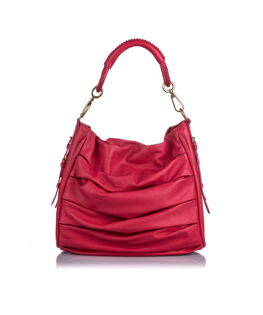 Image for Vintage Dior Libertine Leather Hobo Bag Pink