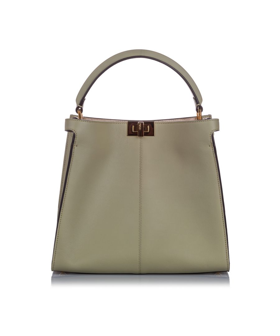 Image for Fendi Peekaboo X-Lite Satchel Gray