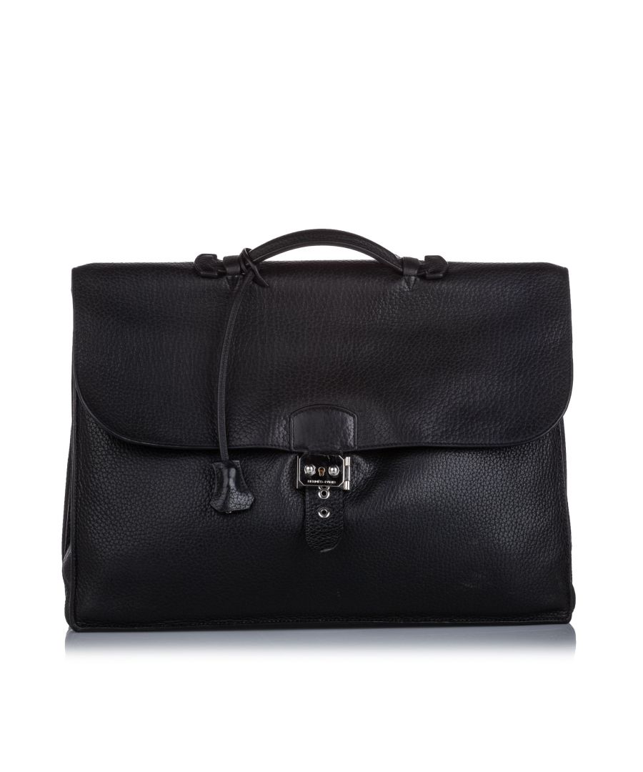Image for Hermes Togo Sac a Depeches 41 Black