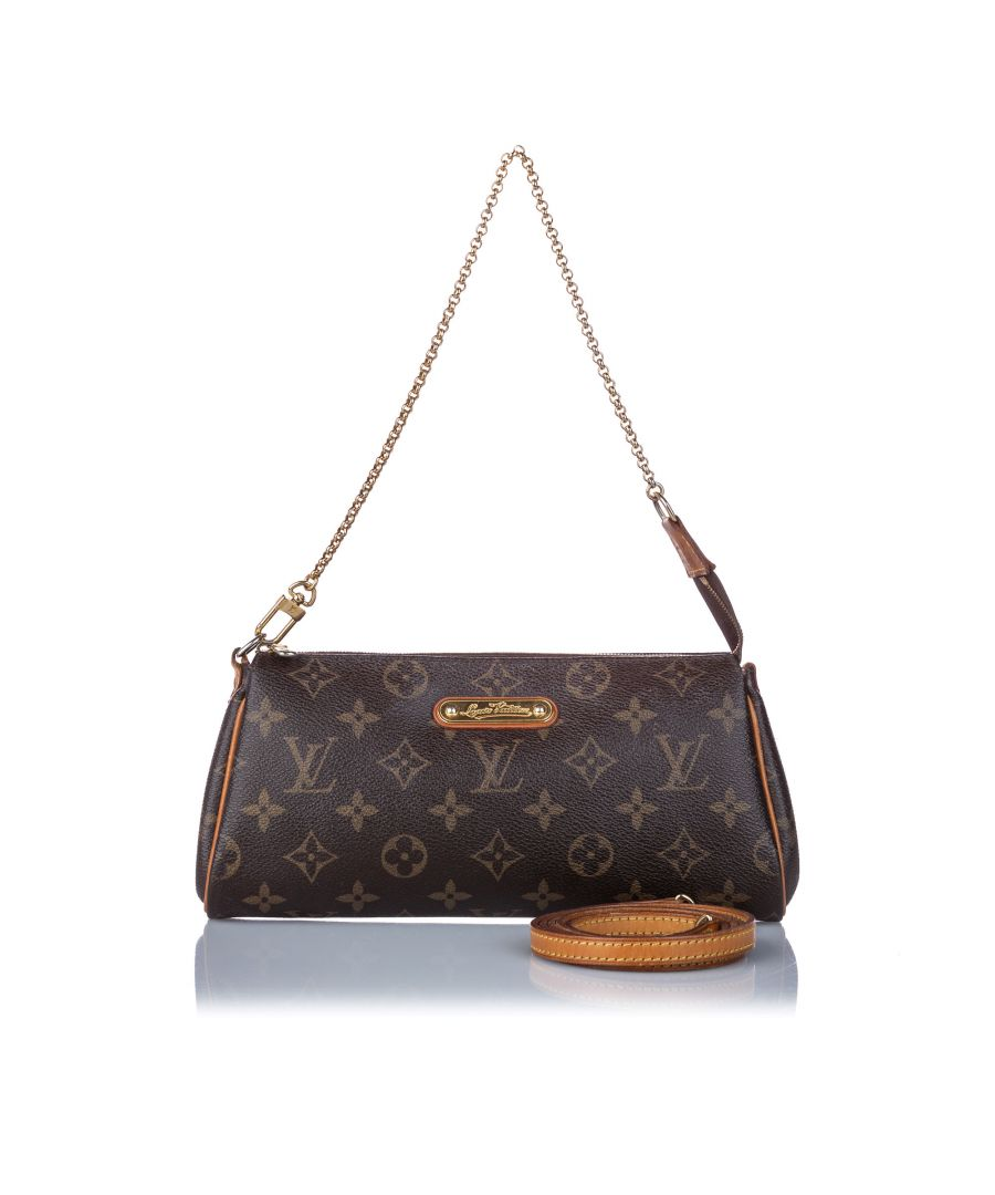 Image for Vintage Louis Vuitton Monogram Eva Brown