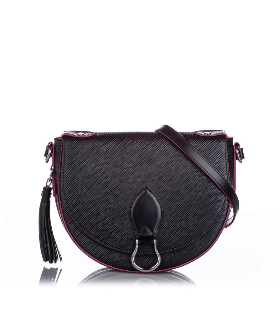 Image for Louis Vuitton Epi Saint Cloud NM Black