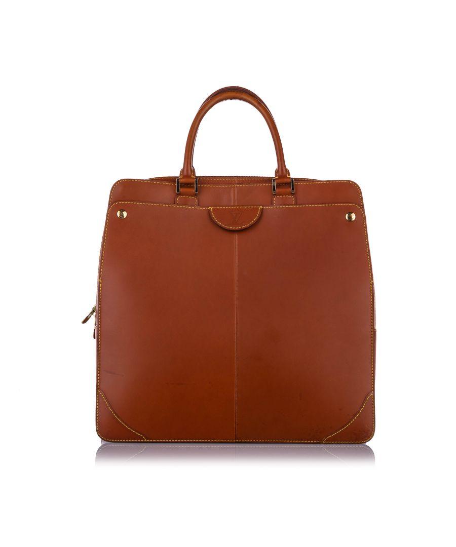 Image for Vintage Louis Vuitton Vachetta Handbag Brown