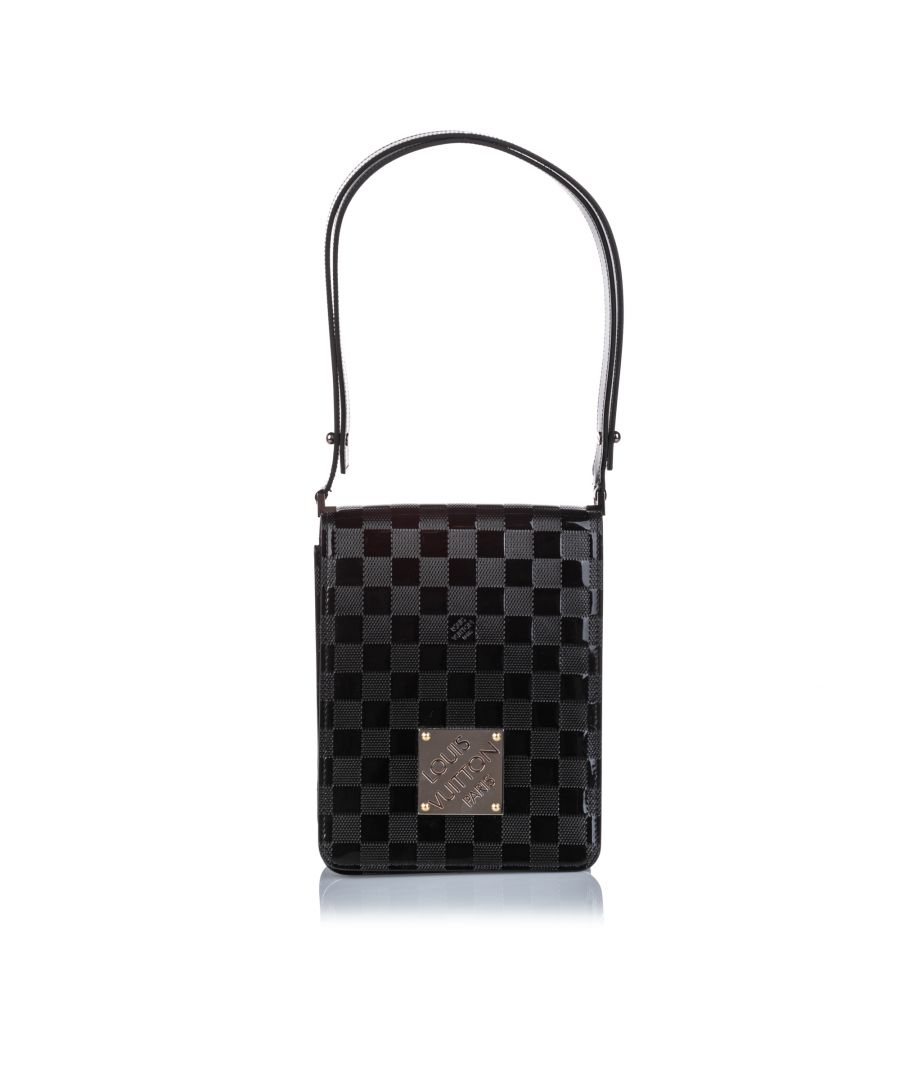 Image for Vintage Louis Vuitton Damier Vernis Cabaret Tall Black