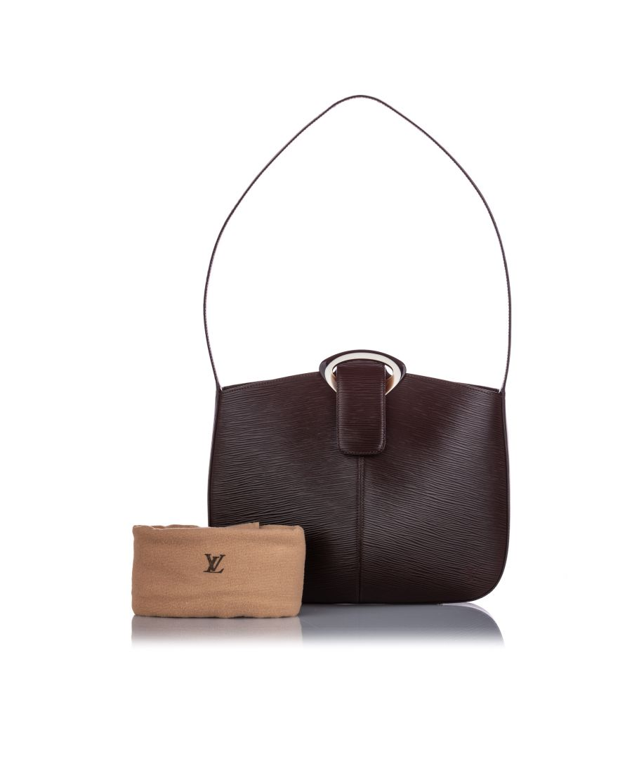 Image for Vintage Louis Vuitton Epi Reverie Brown