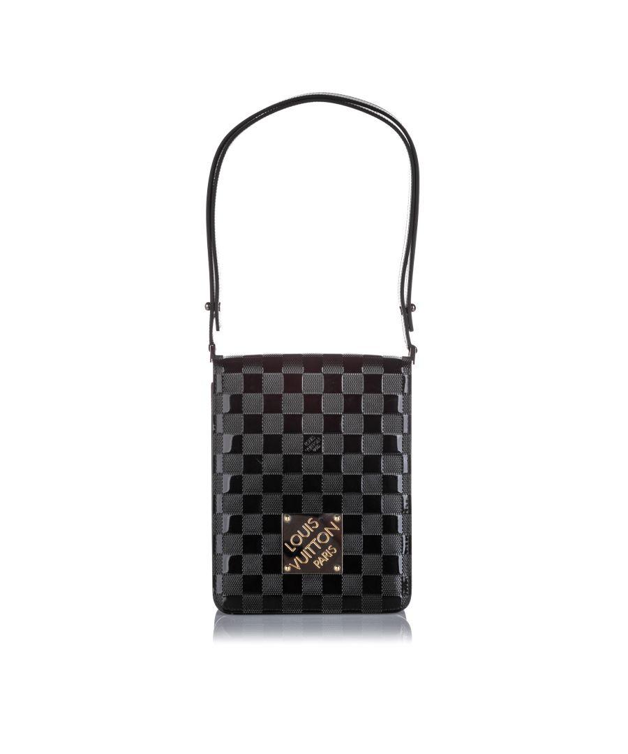 Image for Vintage Louis Vuitton Damier Vernis Cabaret Club Black
