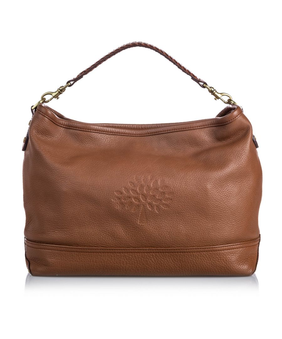 Image for Vintage Mulberry Leather Effie Satchel Brown