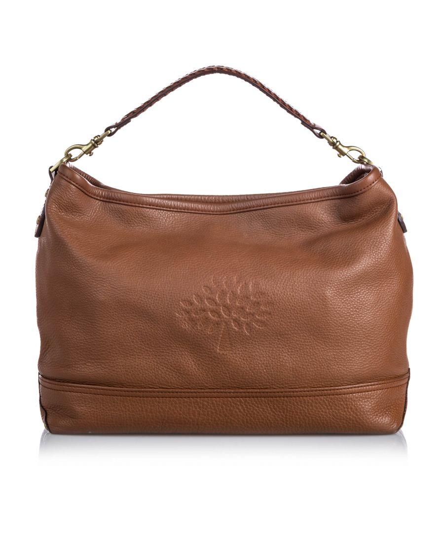 Image for Vintage Mulberry Leather Effie Satchel Brown