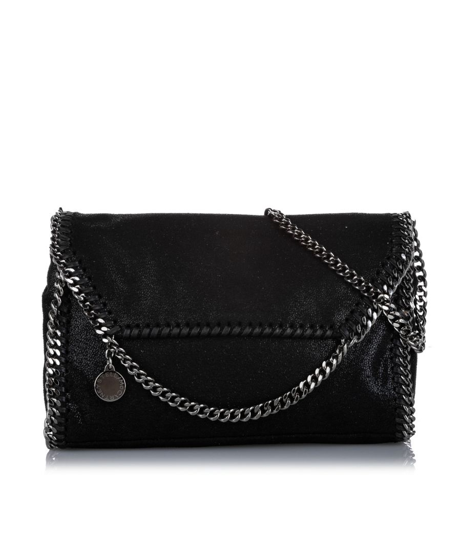 Image for Vintage Stella McCartney Falabella Crossbody Bag Black