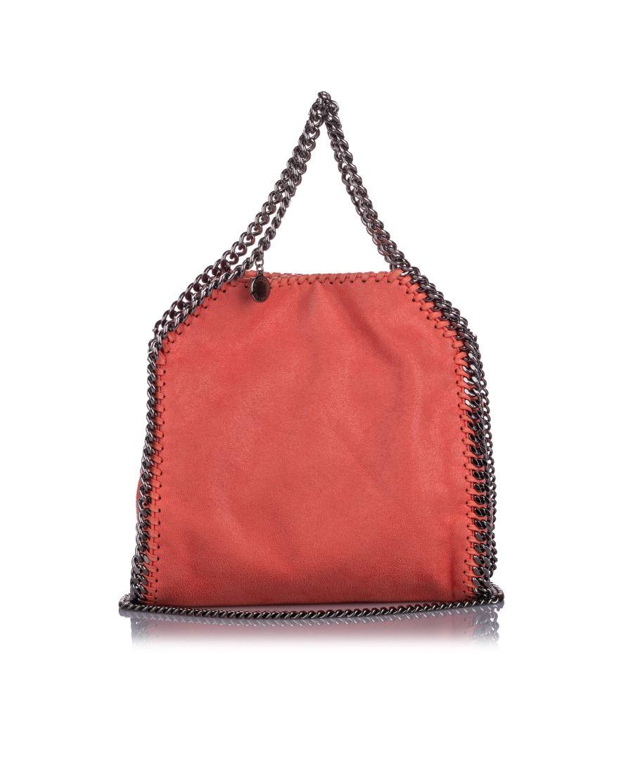 Image for Stella McCartney Tiny Falabella Shaggy Deer Shoulder Bag Orange