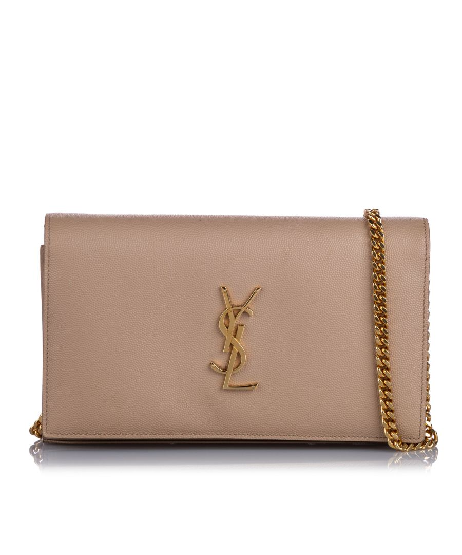 Image for YSL Monogram Wallet On Chain Brown