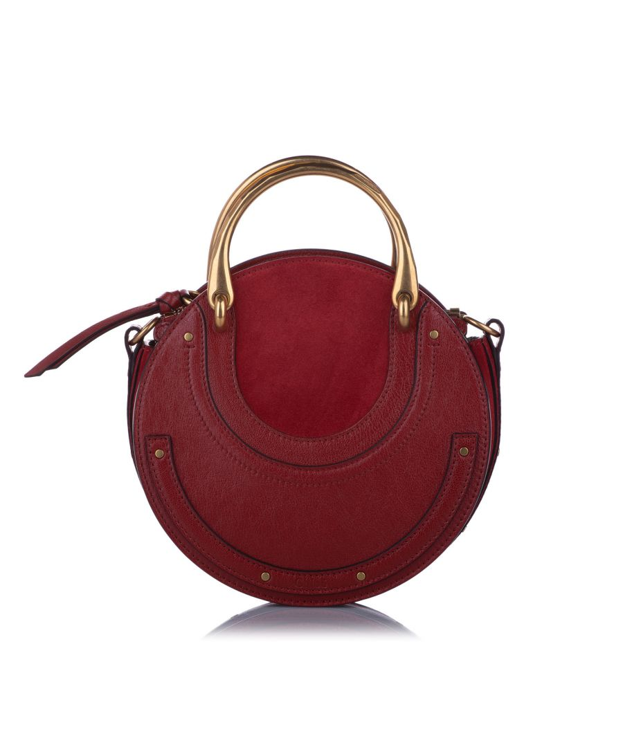 Image for Vintage Chloe Pixie Leather Satchel Red