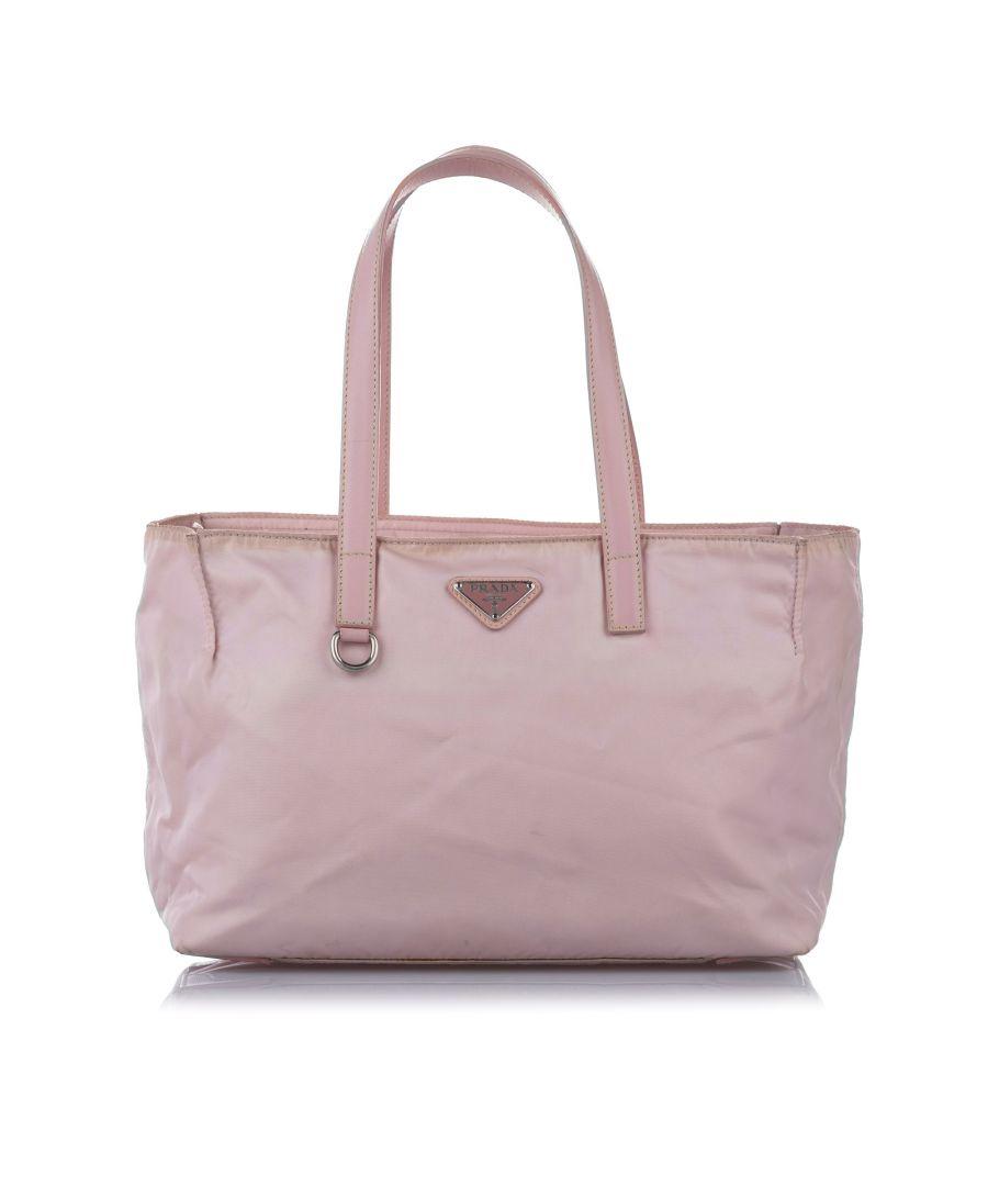 Image for Vintage Prada Tessuto Shoulder Bag Pink