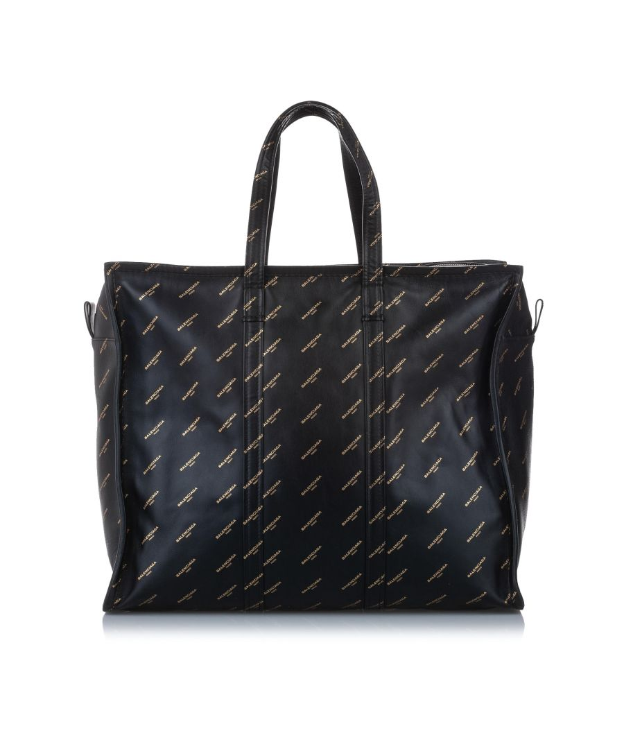 Image for Balenciaga M Bazar Shopper Lambskin Leather Tote Bag
