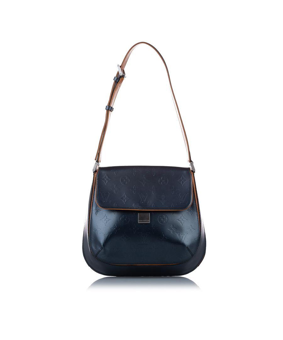 Image for Vintage Louis Vuitton Monogram Mat Webster Street Bag Blue