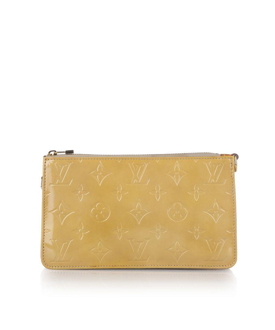 Image for Vintage Louis Vuitton Vernis Lexington Pochette Brown