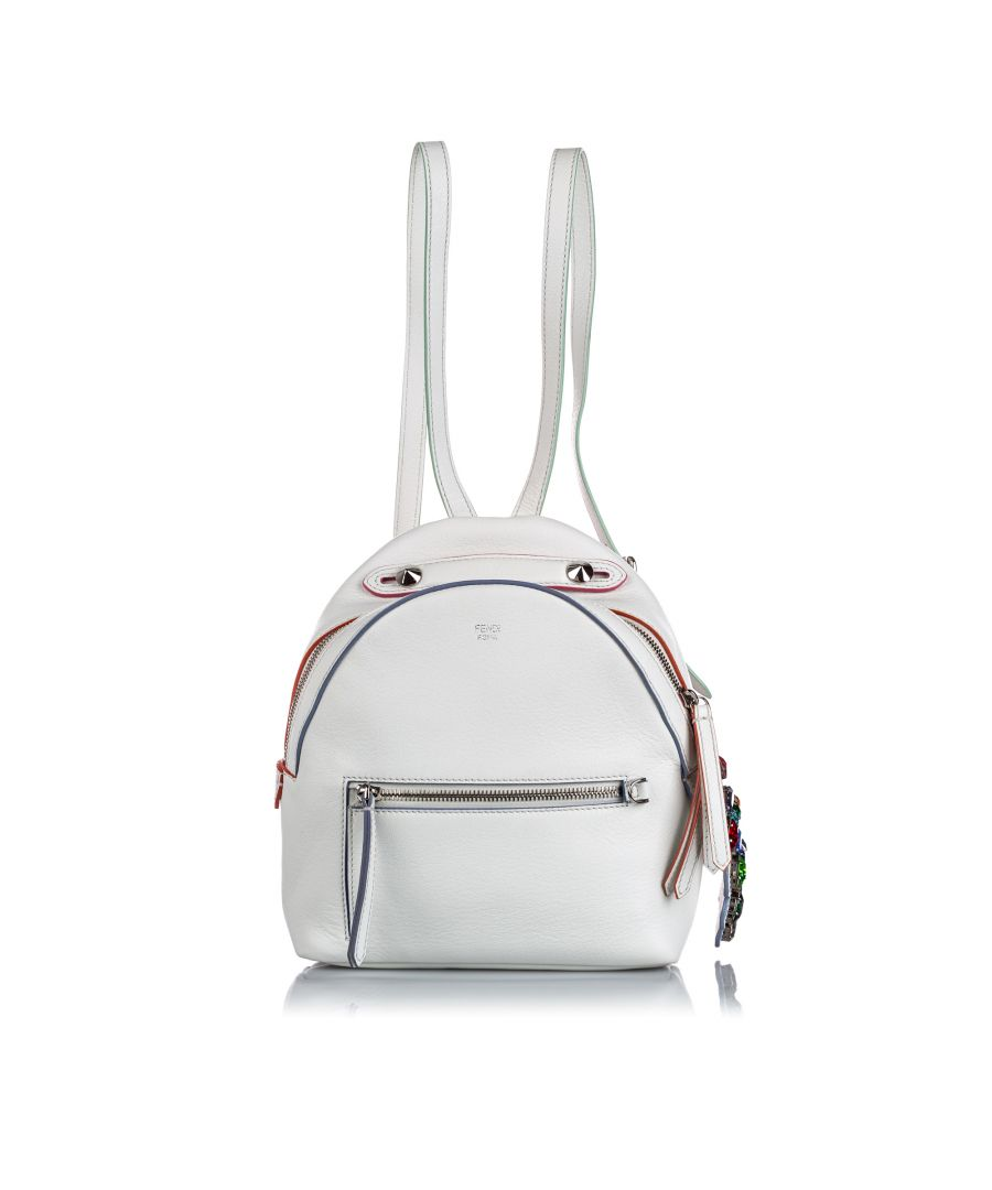 Image for Vintage Fendi Mini By The Way Backpack White