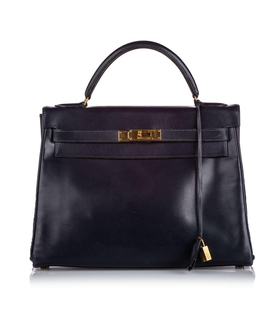 Image for Hermes Box Kelly Retourne 28 Black