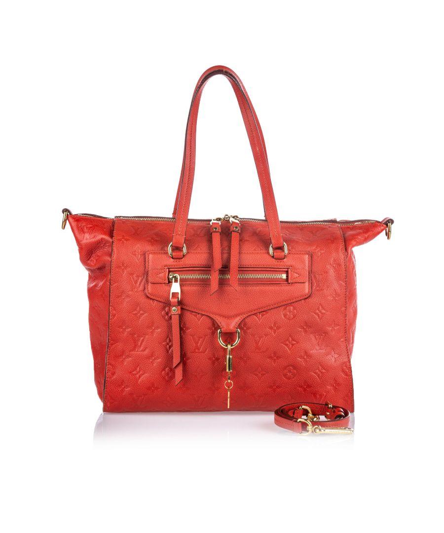 Image for Vintage Louis Vuitton Empreinte Lumineuse PM Red