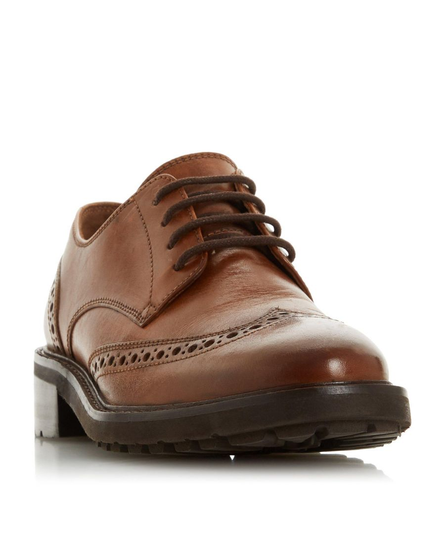 Image for Dune Ladies FION Lace Up Leather Brogue